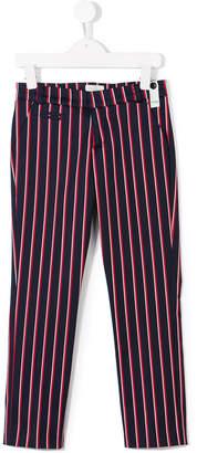 Fendi striped chinos