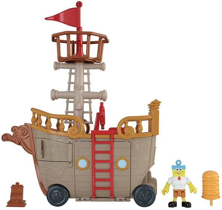 Fisher-price Imaginext Spongebob Mid Food Truck Playset by Fisher-Price