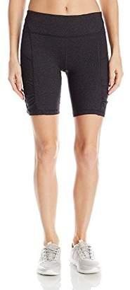 Calvin Klein Women's Shirred Biker Short