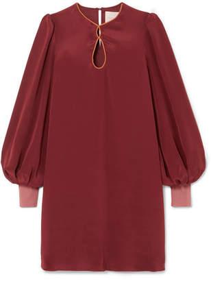 Roksanda Blayna Silk Crepe De Chine Dress - Red