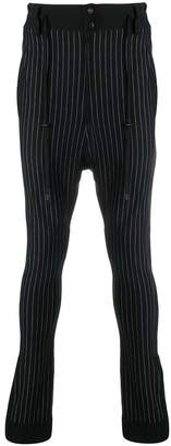 Di Liborio striped print trousers