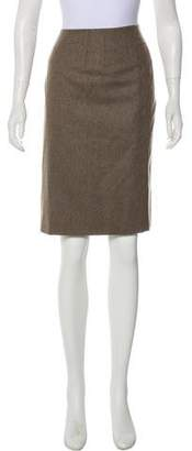 Philosophy di Alberta Ferretti Wool Knee-Length Skirt