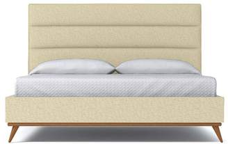 Apt2B Cooper Upholstered Bed EASTERN KING in BISQUE - CLEARANCE