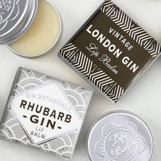 Bath House London Gin And Rhubarb Gin Lip Balm Duo