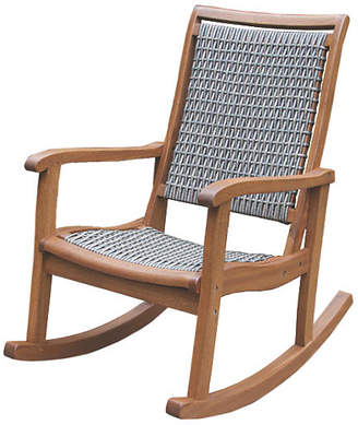 One Kings Lane Mill Rocking Chair Gray