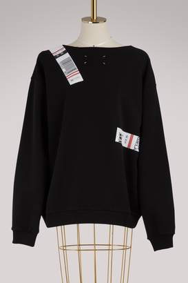 Maison Margiela Tag sweatshirt
