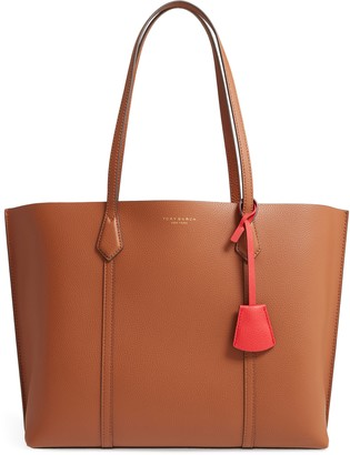 Tory Burch Perry Leather 13-Inch Laptop Tote