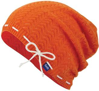 Keds Women's Open-Work Chevron Slouchy Beanie