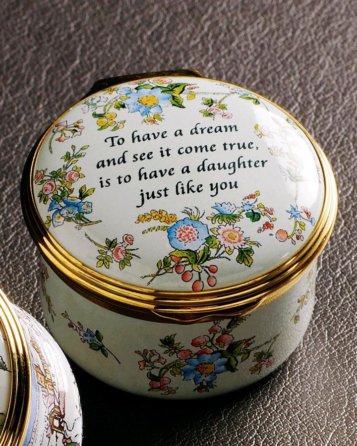 "Halcyon Days Enamels Daughter"" Box"
