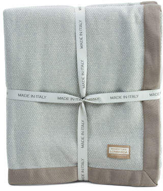 Made In Italy Luxury Merino Wool Blanket