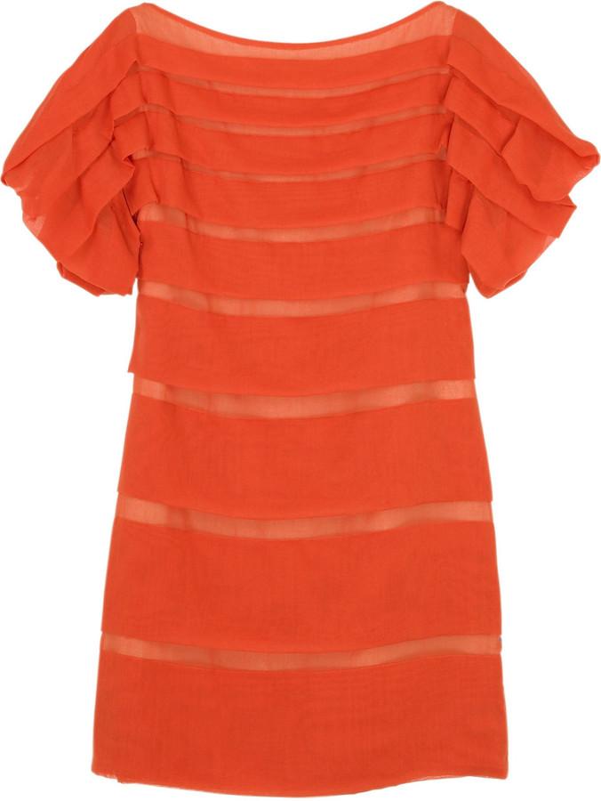 3.1 Phillip Lim Tuck fold dress