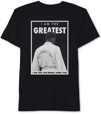 Hybrid Muhammad Ali Men's I Am the Greatest Graphic T-Shirt