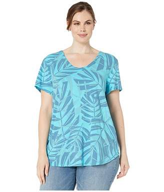 Fresh Produce Extra Fresh by Plus Size Palawan Palms Mika Tee