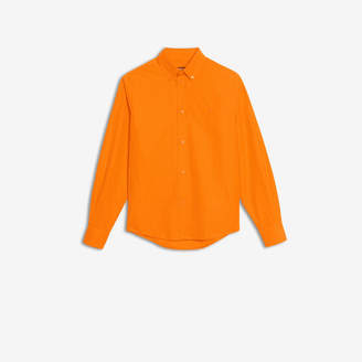Balenciaga Cotton poplin fitted shirt