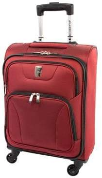 Atlantic Victoria 21.5-Inch Expandable Carry-On Spinner Suitcase