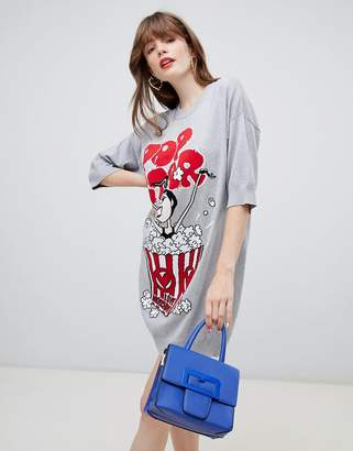 Love Moschino Popcorn sweater dress