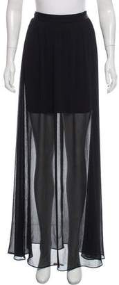 Alice + Olivia Sheer Maxi Skirt