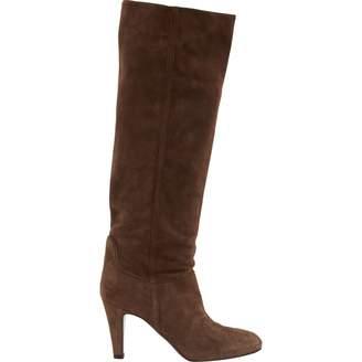 L'Autre Chose Brown Suede Boots