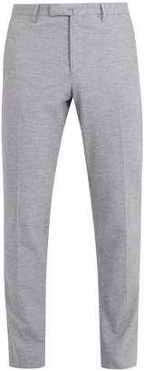 Boglioli Tailored cotton-linen chino trousers