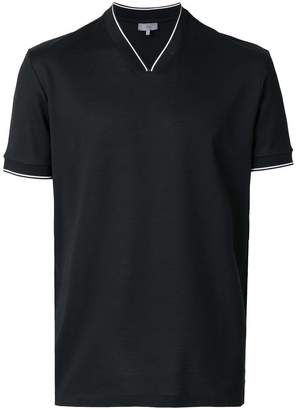 Lanvin V-neck fitted polo shirt