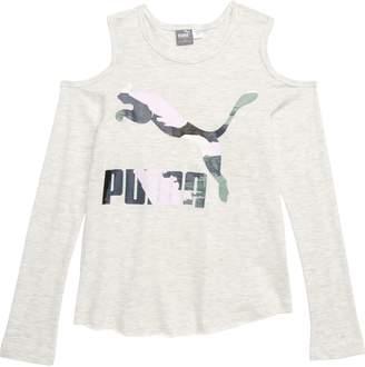 Puma Cold Shoulder Tee
