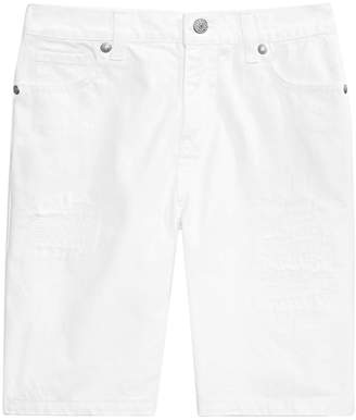 Epic Threads Big Boys White Denim Shorts