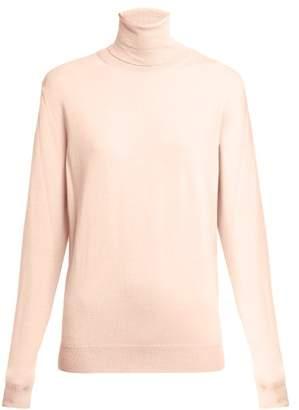 Stella McCartney Roll Neck Wool Sweater - Womens - Nude