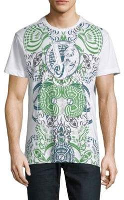 Versace Graphic Short-Sleeve Cotton Jersey Tee