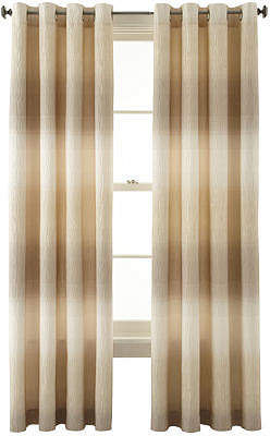 Liz Claiborne STUDIO BY JCP HOME Dakota Two-Tone Lined Grommet-Top Curtain Panel