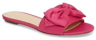 J.Crew J. Crew Knotted Satin Bow Slide