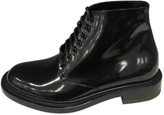 Saint Laurent Patent leather boots