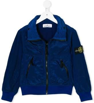 Stone Island Junior lightweight zipped jacket