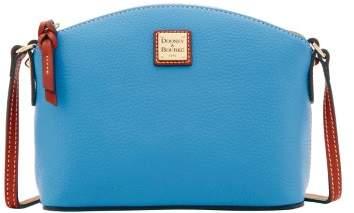 Dooney & Bourke Pebble Grain Ruby Crossbody Shoulder Bag - AZURE - STYLE