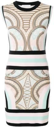 Pierre Balmain intarsia-knit dress