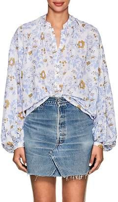 Thierry Colson Women's Slava Floral Cotton Blouse