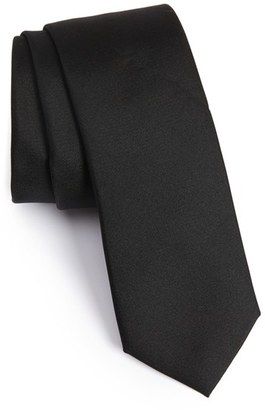Men's Calibrate Veloutine Woven Silk Skinny Tie $49.50 thestylecure.com