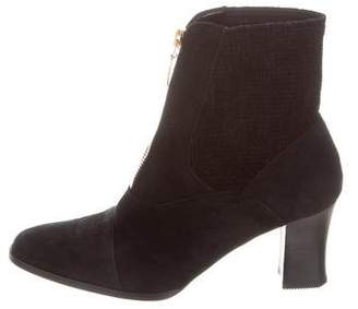 Sonia Rykiel Suede Ankle Boots