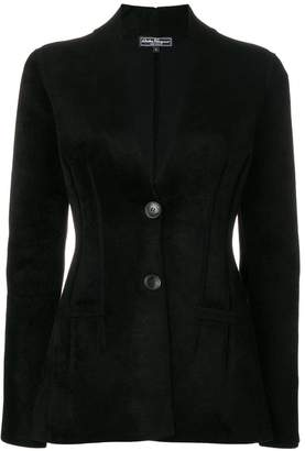 Salvatore Ferragamo fitted single breasted jacket