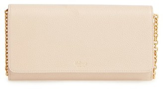 Mulberry 'Continental - Classic' Convertible Leather Clutch - Beige $765 thestylecure.com