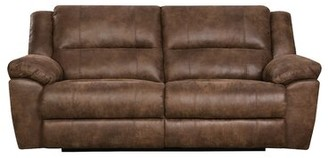 Loon Peak Umberger Contemporary Double Motion Reclining Sofa by Simmons Upholstery Loon Peak