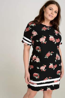 Ardene PLUS Super Soft Floral Mini Dress