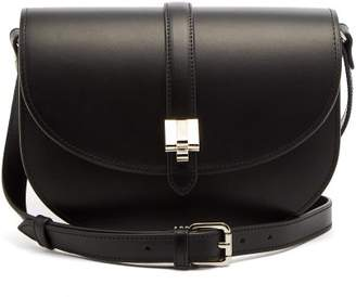 A.P.C. Isilde Leather Cross Body Bag - Womens - Black