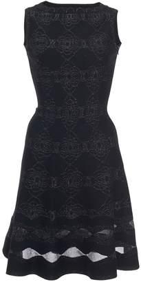 Alaia Sleeveless Floral Midi Dress