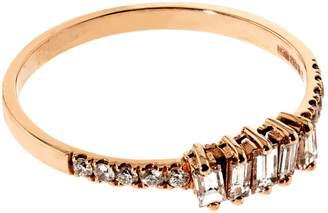 Suzanne Kalan Baguette White Diamond Ring