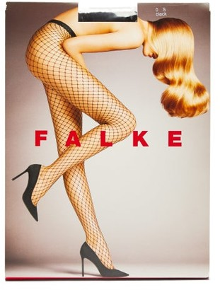 Falke Fishnet Tights - Womens - Black