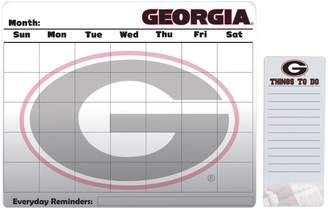 Georgia Bulldogs Magnetic Dry Erase Calendar & To-Do Board Set