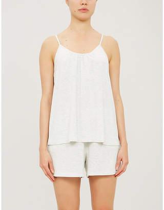 Skin Lila stretch-jersey pyjama shorts