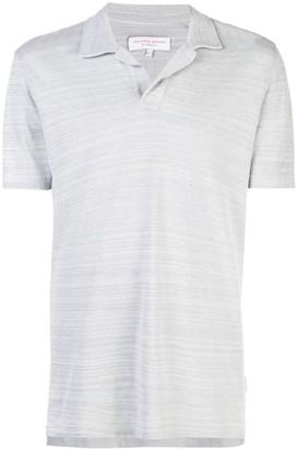 Orlebar Brown spread collar polo shirt