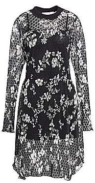 See by Chloe Women's Floral Lace Dress