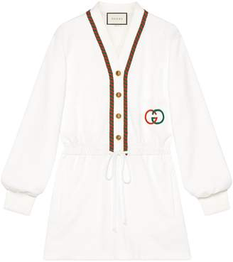 Gucci Technical jersey dress